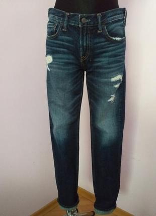 Якісні джинси прямий крій/abercrombie/m