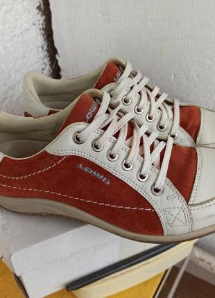 Туфли lowa made in portugal 37 37.5 24 см кожа кроссовки