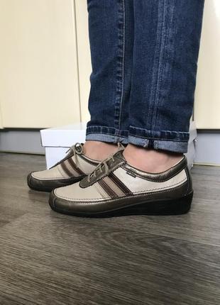 Жіночі шкіряні кросівки німецької фірми rohde/ женские кожа кроссовки, кросы rohde.