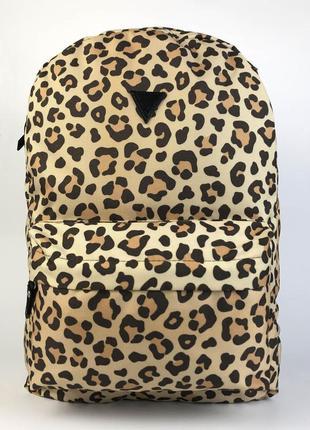 Рюкзак леопардовый