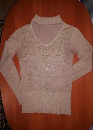 Интересный реглан свитшот свитер кофта с чокером