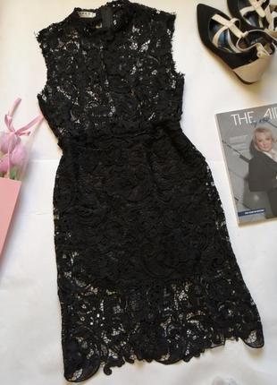 Ажурное платье р м