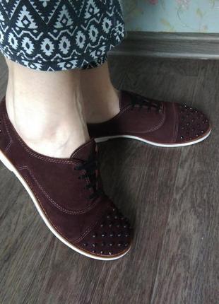 Туфли ботинки кожа турция