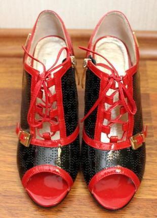 Босоножки туфли на шнурках с asos