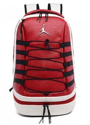 Рюкзак jordan retro 10 red портфель красный сумка ранец женский / мужской