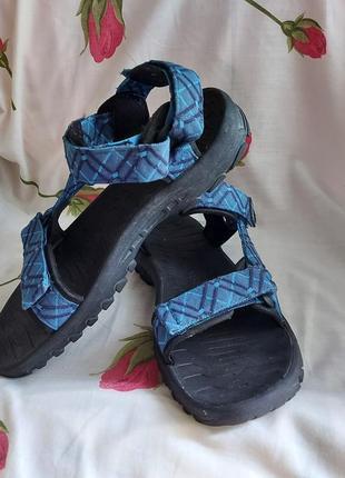 Босоножки сандали jack wolfskin 42p ортопедические синие