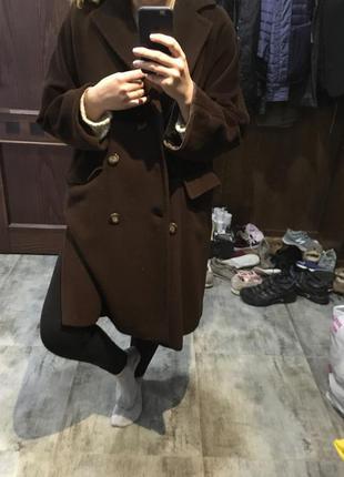 Оверсайз пальто max mara оригинал