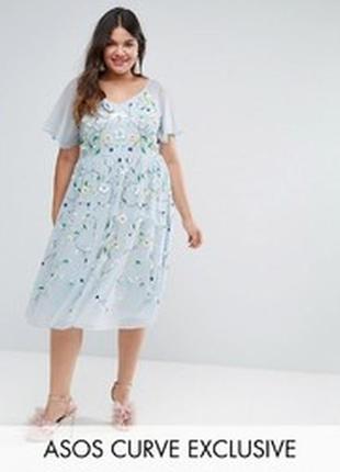 Нарядное..эксклюзивное платье 18р от asos