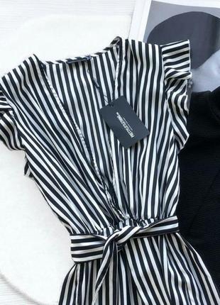 Красивенное платье в полоску