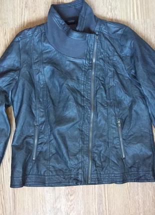 Курточка из кожзама benotti большой размер
