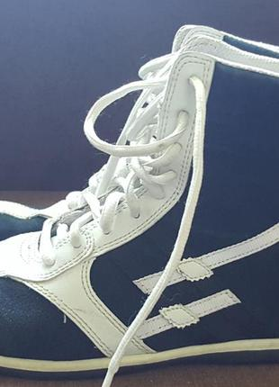 Фирменные кроссовки-ботинки the gang