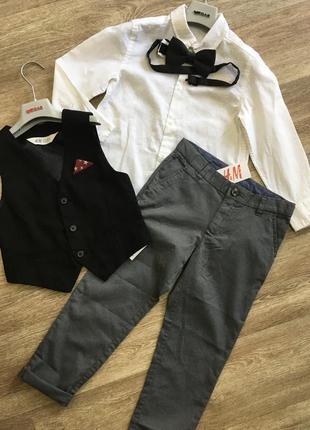 Брюки и рубашка hm