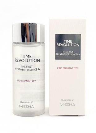 Антивозрастная эссенция missha time revolution first treatment essence, косметика корея