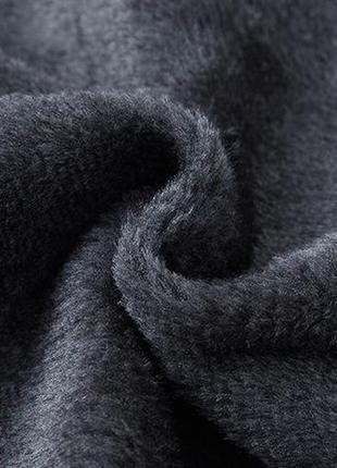 Мужская зимняя куртка на меху kang, синяя10 фото