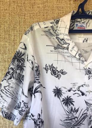 Винтажная hawaii рубашка
