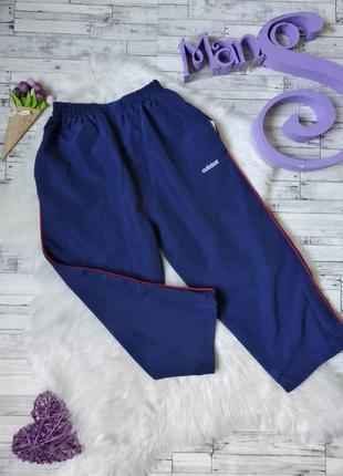 Спортивные штаны adidas на мальчика синие
