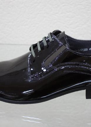 Шикарные лаковые туфли respect