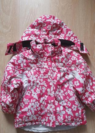 Детская куртка термокуртка на девочку