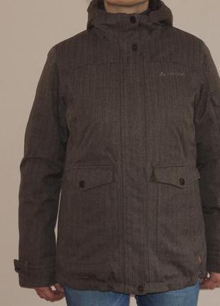 Мембранная зимняя  куртка парка vaude ceplexactive р.l/xl (евро 42)