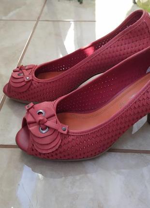 Летние туфли marco tozzi