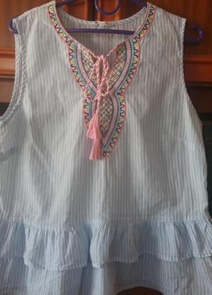 Красивая блуза с баской .