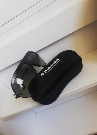 Сонцезахисні окуляри polaroid grey lenses +чехол. оригінал