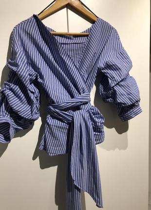 Блуза zara {xs}