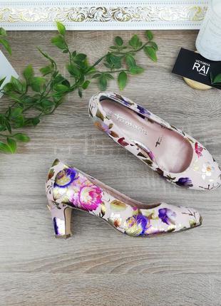 🌿36🌿европа🇪🇺 tamaris. фирменные женственные туфли с memory стельками