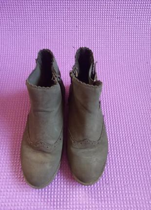 Полусапожки демисезонные ф. boot collection girl длина стельки 20 см. 31-32 р.