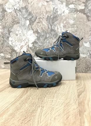 Jack wolfskin 33 р трекінгові водонепроникні черевики кроси ботинки кроссовки