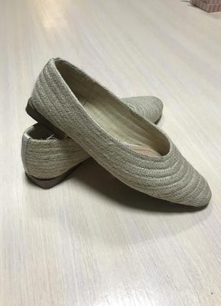 Балетки zara літнє взуття