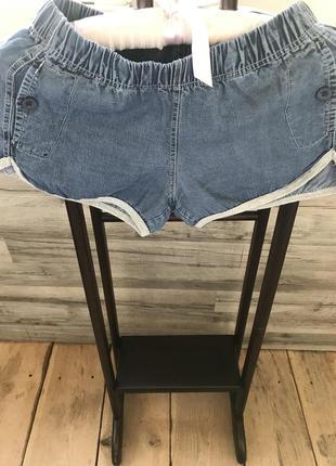 Повседневные джинсовые шорты