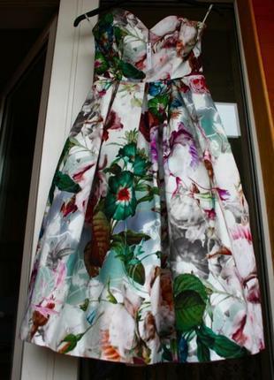 Новое, платье,плаття, сукня, в цветы, квіти