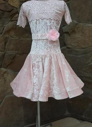 Бейсик платье для бальных танцев
