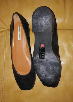 Кожаные туфли лодочки квадратный носок & other stories