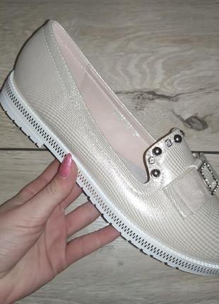 Балетки 🌿 туфли женские лодочки девочке школьные