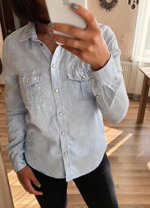 Очень красивая, качественная рубашка от american eagle