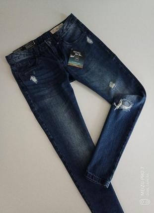 Крутие рвание джинси бойфренди от немецкого дизайнера heidi klum, 36,s