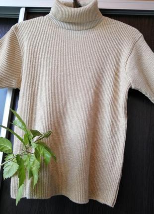Красивый свитер гольф, батал 85% акрила. bhs