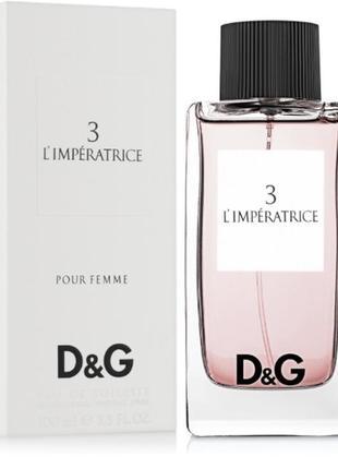 Dolce&gabbana anthology l`imperatrice 3 50 ml оригинал