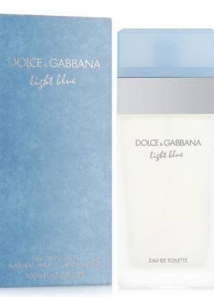 Dolce&gabbana light blue 25 ml оригинал