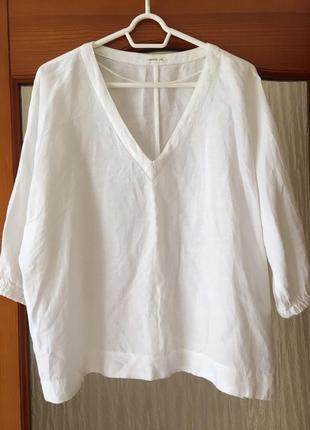 Блуза льняная oysho