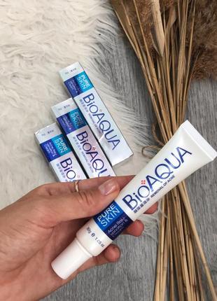 Крем против высыпаний крем от прыщей bioaqua pure skin acne rejuvenation & cream (30мл)