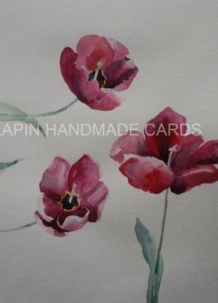 Картина цветы картина тюльпан картина тюльпаны