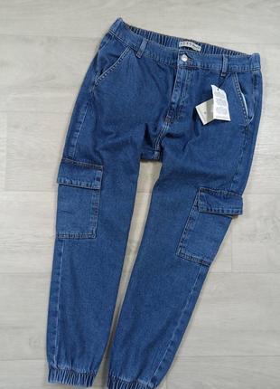 Крутые джинсы джоггеры