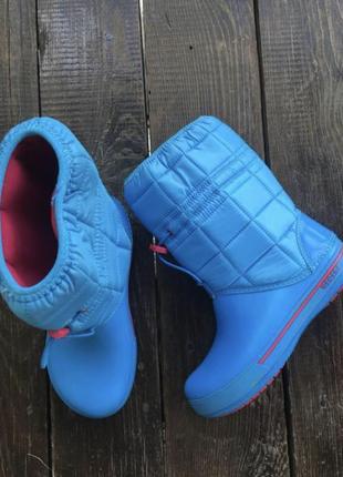 Очень стильные, крутые ботинки crocs