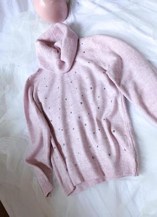 Свитер, розовый свитер, джемпер