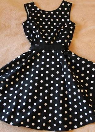 Платье в горошек mohito