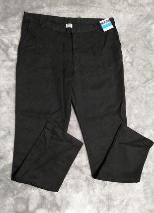 Черные классические брюки george на 16-17 лет