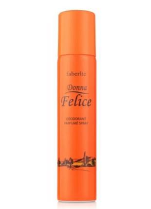 Парфюмированный дезодорант фаберлик донна felice феличе фелиси